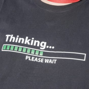 Thinking . . . Please Wait